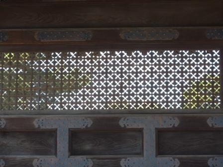 門のすかし