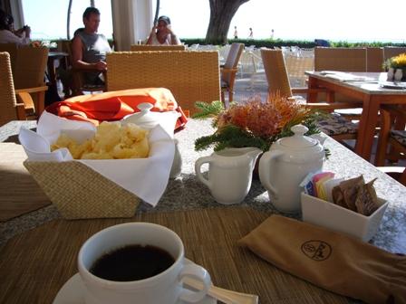 ランチの後のコーヒー