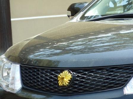 菊の紋の車