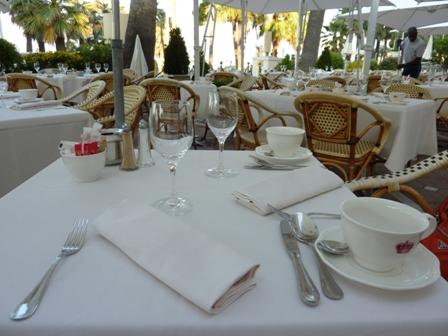 テーブルセティング
