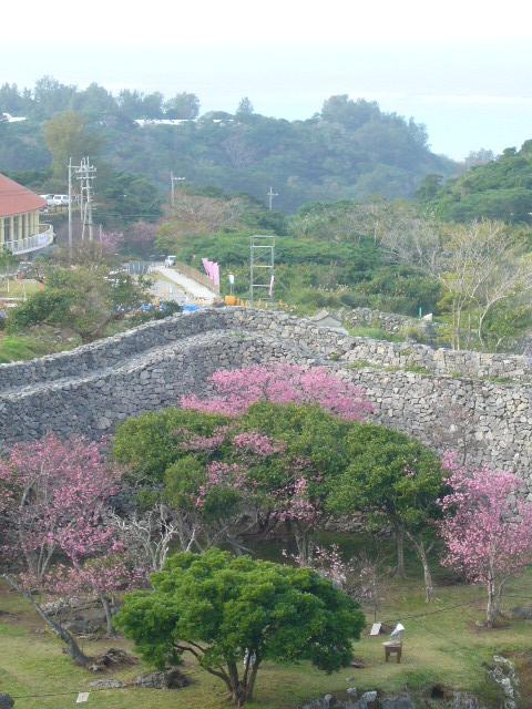 城跡からの眺め