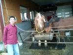 サロマ湖20101010馬ちゃんその2