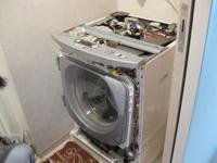 ドラム式洗濯機の中身