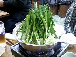 石鍋亭のもつ鍋
