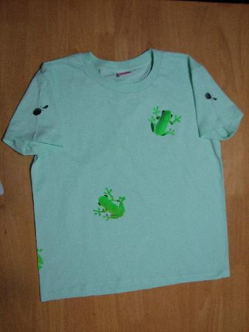 カエラーTシャツ 001