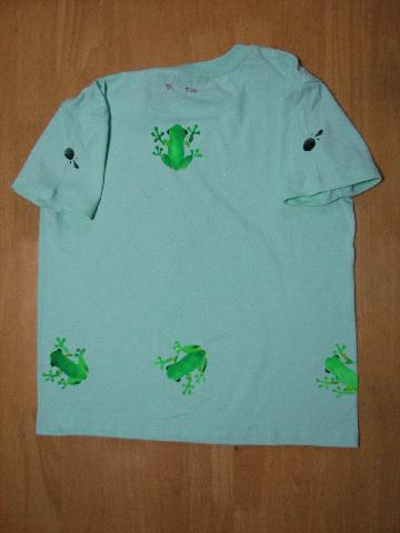 カエラーTシャツ 002