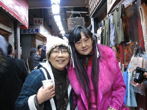 龍花さんとツーショット