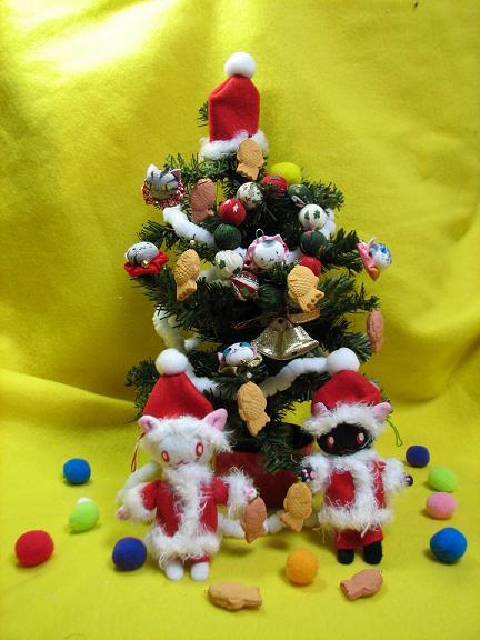 コピー ~ クリスマスにゃあこ 024