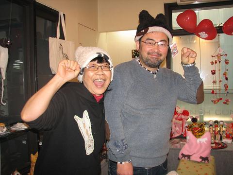 米田さんと川猫①