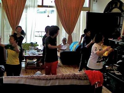 エチオピアダンス練習