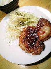 豚ロースのケチャップ炒め007