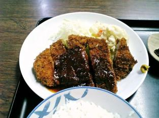 山田ホームレストラン、本日の定食Aポークカツ005