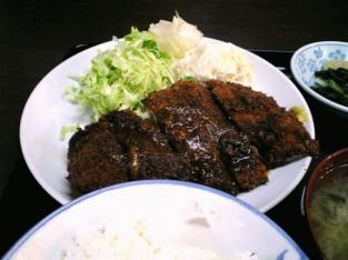 山田ホームレストラン、本日の定食Aチキンカツ003