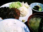 山田ホームレストラン、本日の定食Aチキンカツ005