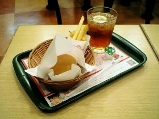 モス とびきりハンバーグサンド きのこと根菜ソテー&チーズ003
