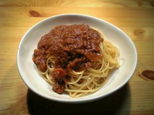 ハウスジャワカレーでスパゲッティ001