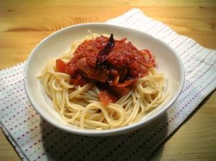 スパゲッティアラビアータ005