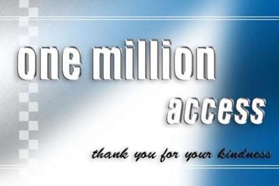 100万アクセス