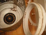 洗濯機分解洗浄S5