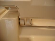 ハウスクリーニング・トイレ便座外し方8