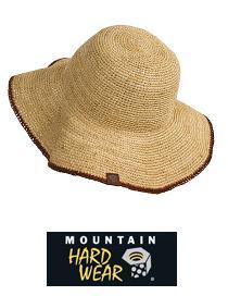 山ガールファッション マウンテンハードウェアのハット