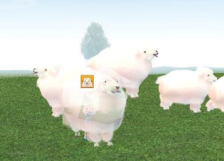 ブログ用もふもふ羊