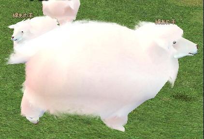 ブログ用もふもふ羊-2