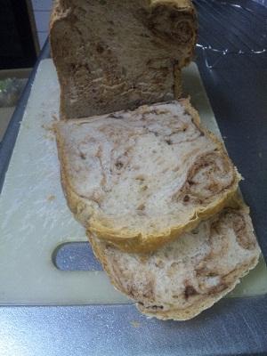 チョコマーブルパン1