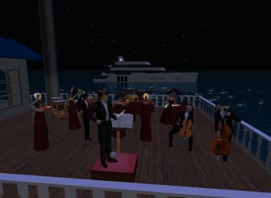 船上の演奏会