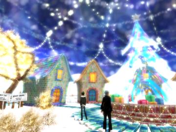クリスマスな街