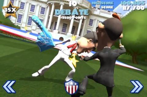 速い! オバマとロムニーが繰り広げる選挙戦ゲーム登場
