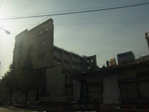 残してほしい建物がまたひとつ消えていきます