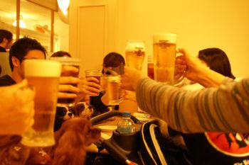 20091003 乾杯!