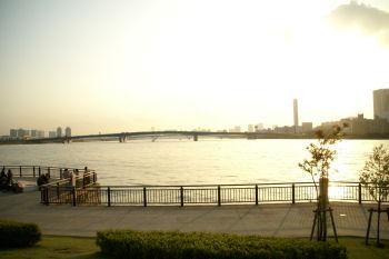 20091004 夕焼け