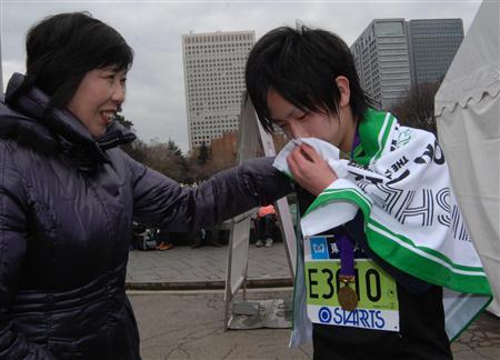 東京マラソン高校生