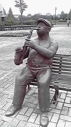 寒空のミュージシャン