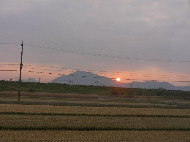 金華山からの日の出1