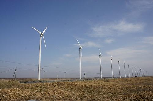 天塩(てしお)の風力発電