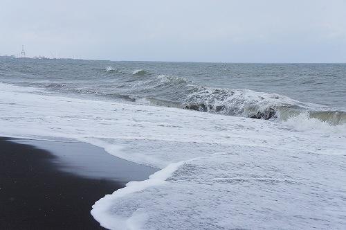 厚真の海岸
