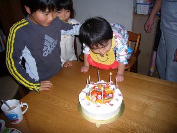 こう8歳の誕生日