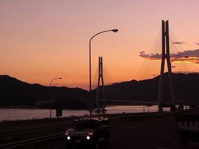 19:03多々羅大橋