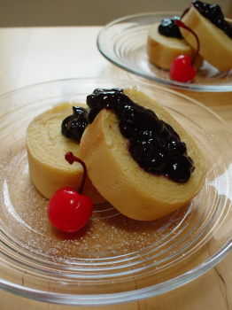 渦巻きホットケーキ