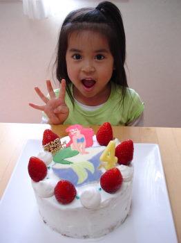 4歳のお誕生日