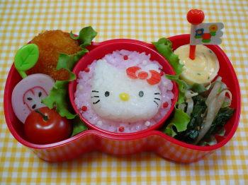 キティちゃんのお弁当