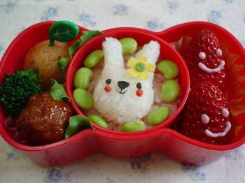 うさぎちゃんのお弁当2