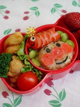 子供の日 アンパンマンのお弁当