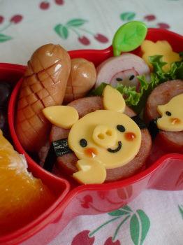 こぶたちゃんのお弁当2