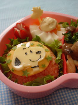 スヌーピーのお弁当2