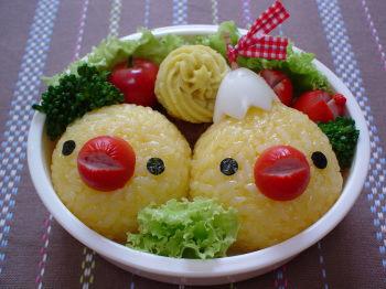 ひよこちゃんのお弁当