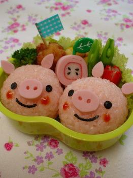 ぶたちゃんのお弁当2